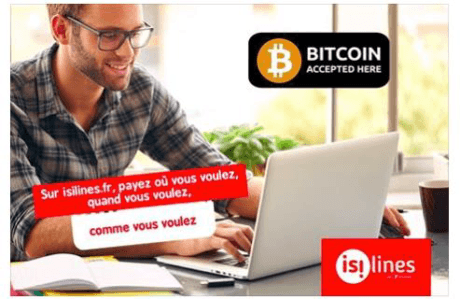 isilines,paiement,btcoin,transdev