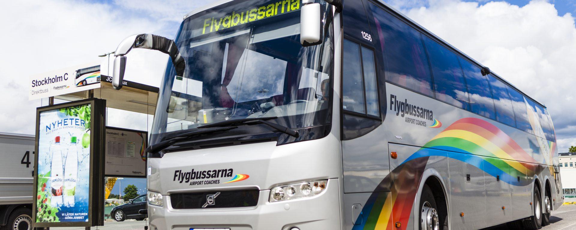 Flygbussarna,bus,transdev,airport,services,2018