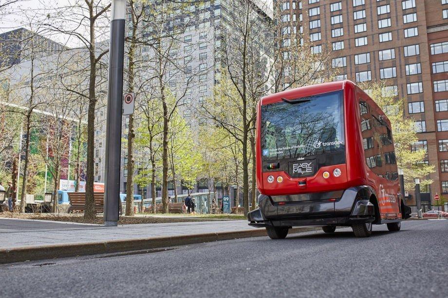 transdev, mobilité, navette, autonome