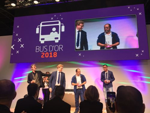 transdev, chambéry, bus d'or 2018, mobilité
