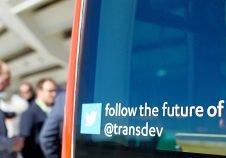 twitter, bus, innovation, mobilité, transdev