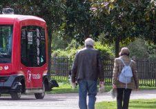navette autonome, mobilité, transport, transdev