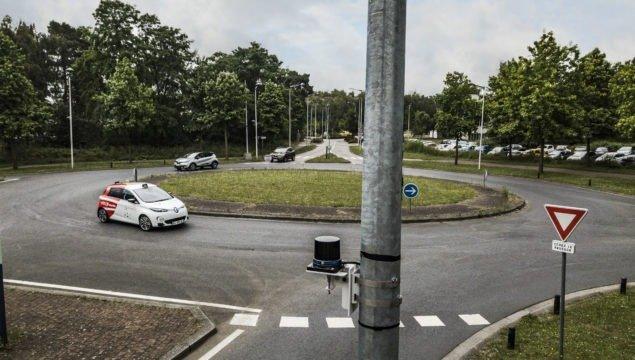 voiture autonome Transdev rnal zoe renault rouen