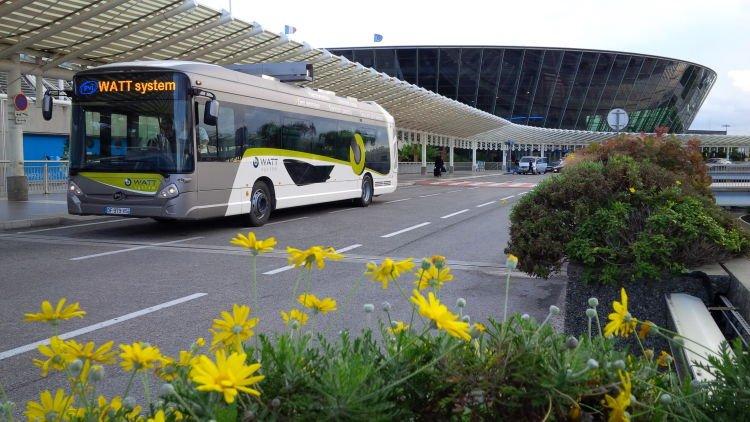 bus,electrique,autonomie,circulation,nice,coteazur