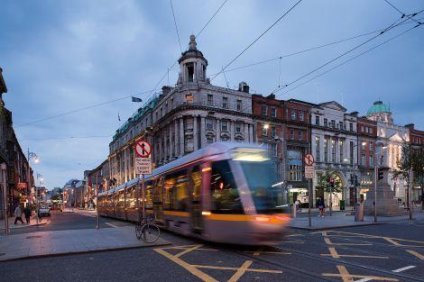 transdev,dublin,mobilité,developpement,tramway