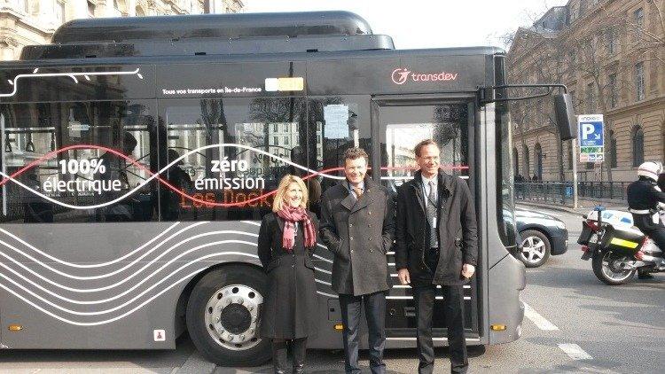 memorandum,transdev,electric,buses,mobility