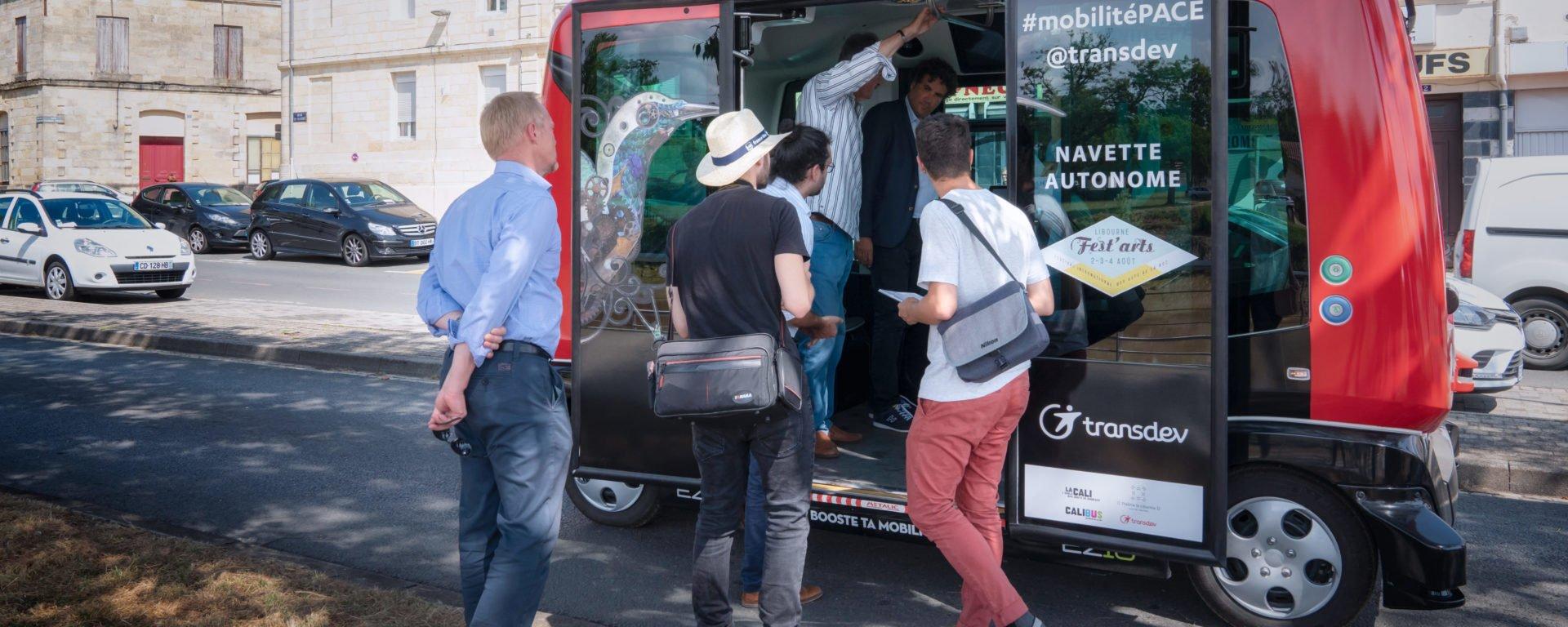 Service de transport autonome festival Fest'arts