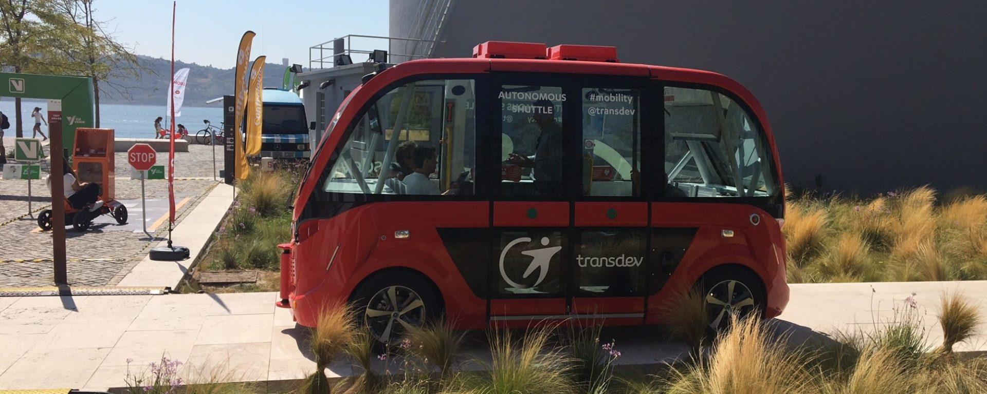 Transport autonome Transdev Lisbonne