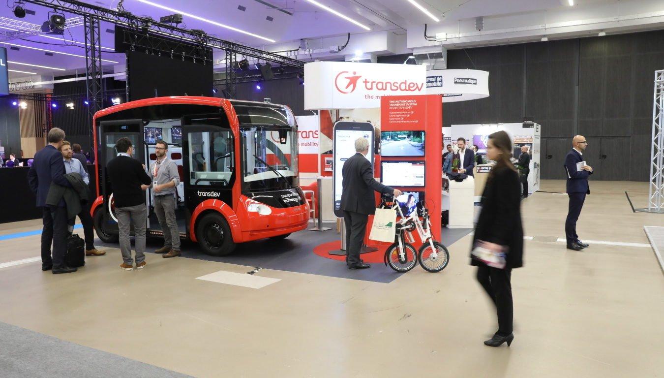 Le transport en vehicule autonome au mondial auto Paris