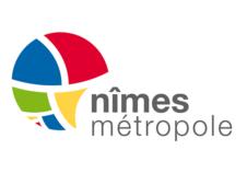 Logo Nîmes Métropole Transdev transports publics