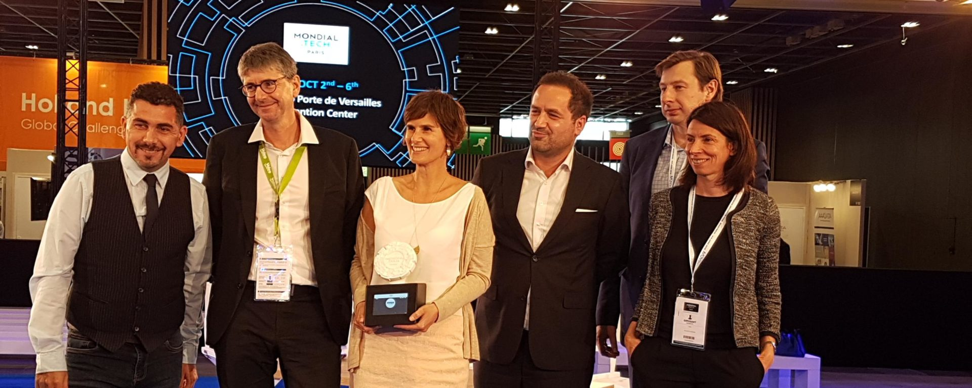 Mondial tech award win