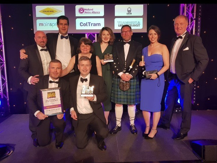 Transdev Ireland winner Global Light Rail Operator 2018