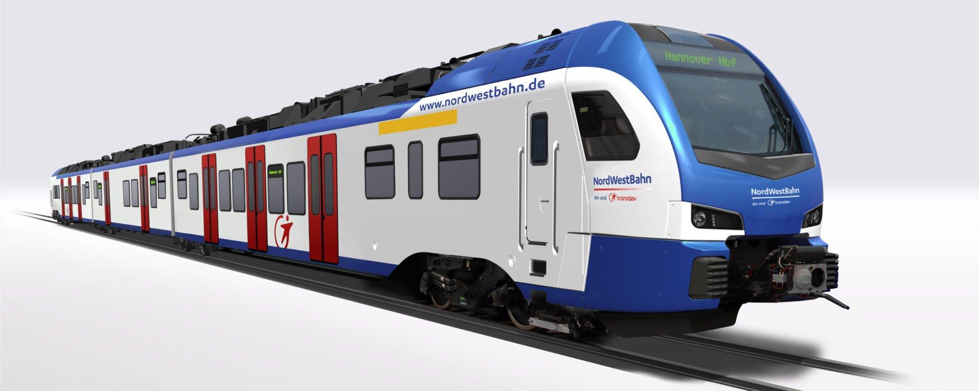 Stadler trains hanovre Transdev S Bahn