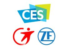 Logos Transdev ZF CES partenariat partnership