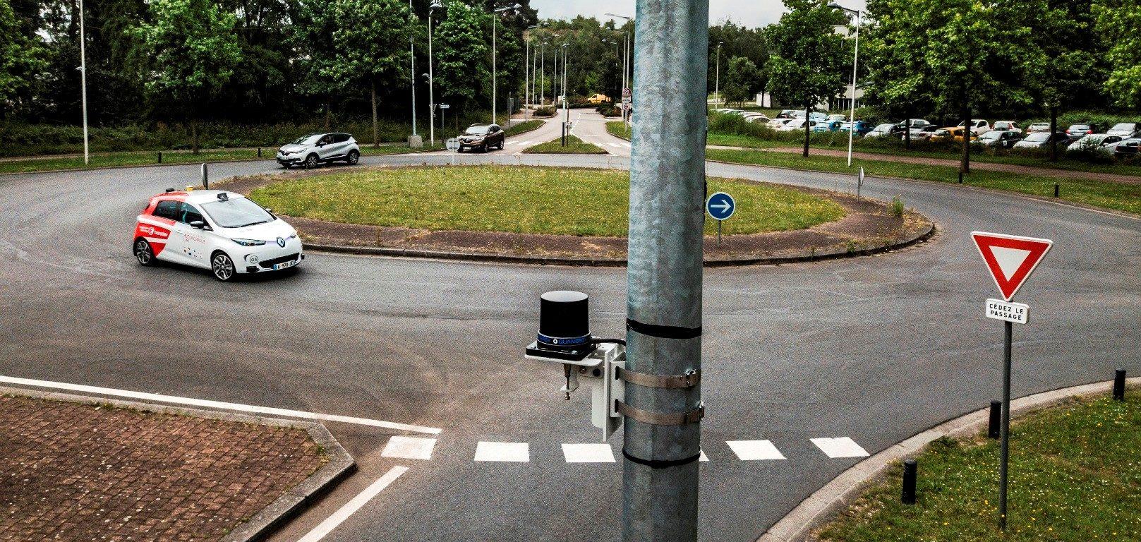 Transdev véhicule autonome Ericsson connexions sans fil haut débit
