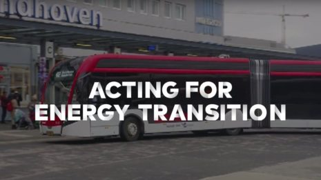 Transdev Netherlands Eindhoven province Brabant Bravo electric bus articulated energy transition mobility company passengers