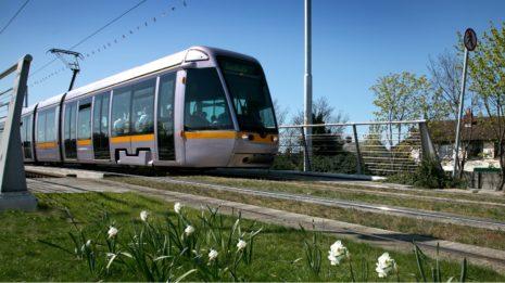 Transdev Group LUAS tramway lightrail Dublin public transportation transports communs mobility company passengers passagers trajet trip