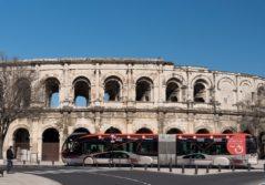 Transdev réseau urbain Tango Nîmes mobility company voyageurs transports commun publics