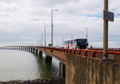 Transdev Car haut niveau de service bioethanol ligne interurbaine La Rochelle Ile de Ré
