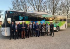 Transdev Val de seine Normandie vernon giverny car électrique transport voyageurs touristique