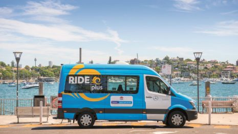 Transdev Australasia Ride plus on demand transportation public transit