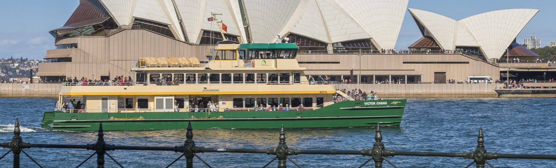Transdev Sydney Ferries ferry boat bateau opera