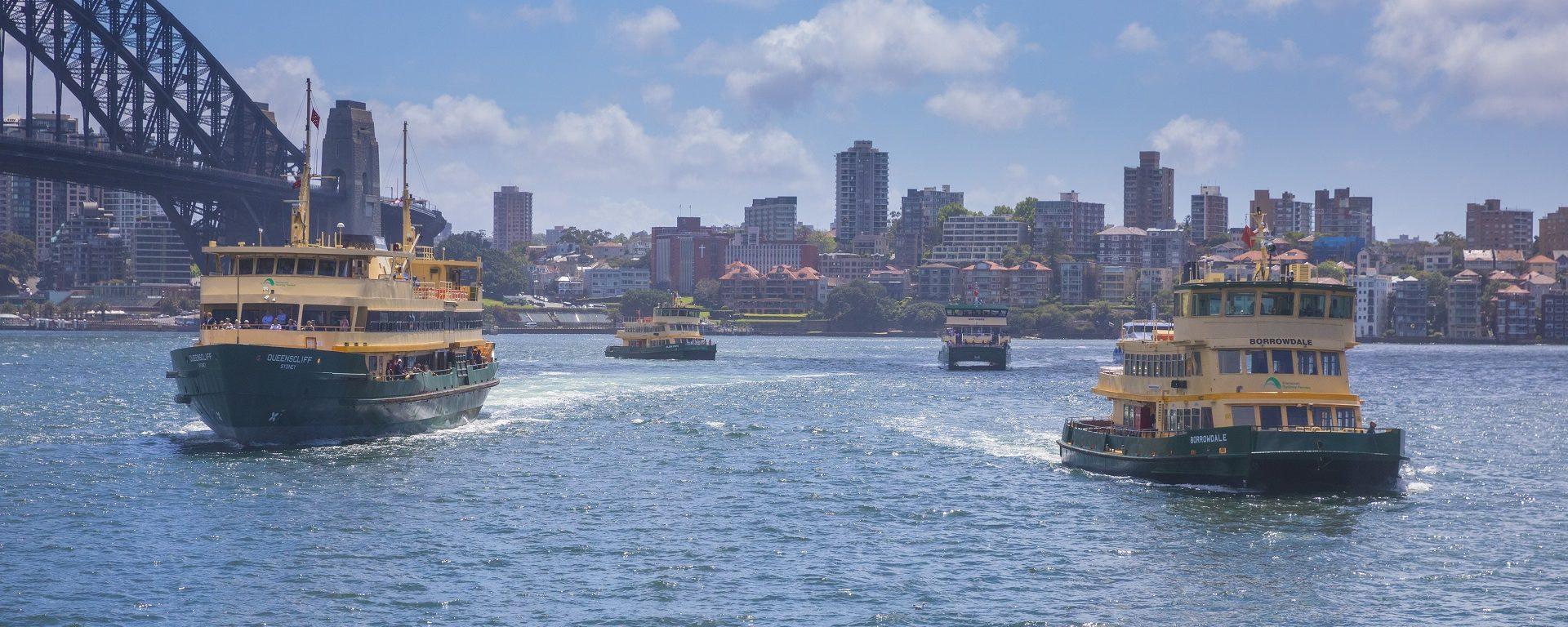 Transdev Sydney Ferries ferry boats bateaux