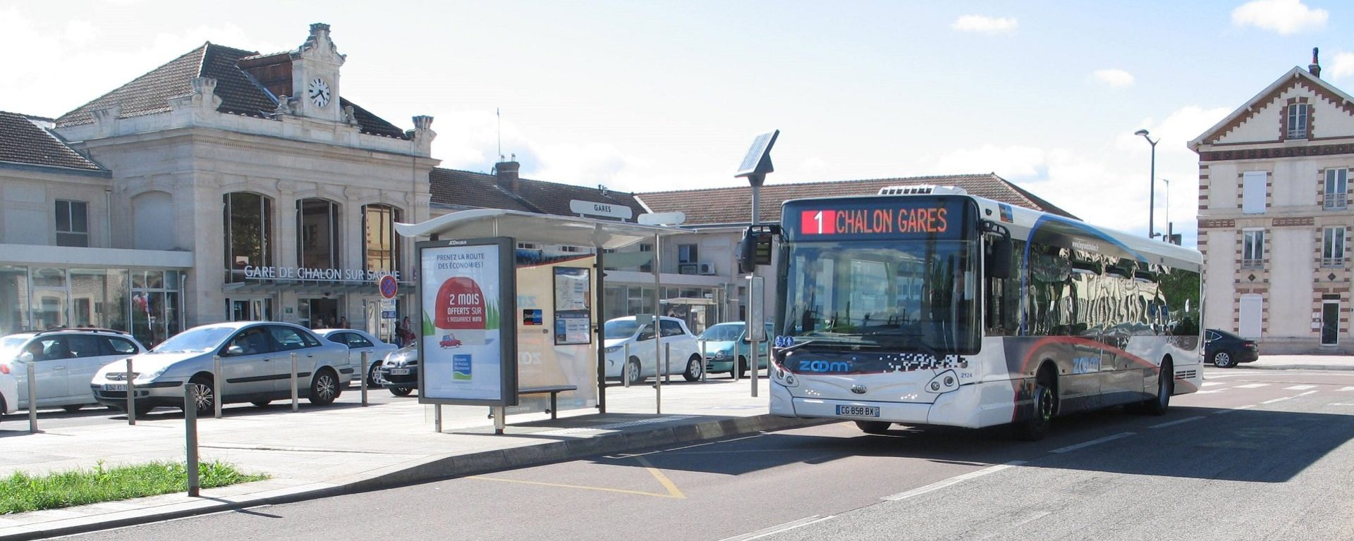 Bus zoom réseau transport public Chalon-sur-Saône Transdev