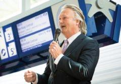 Pier Eringa CEO Transdev Netherlands speaker station