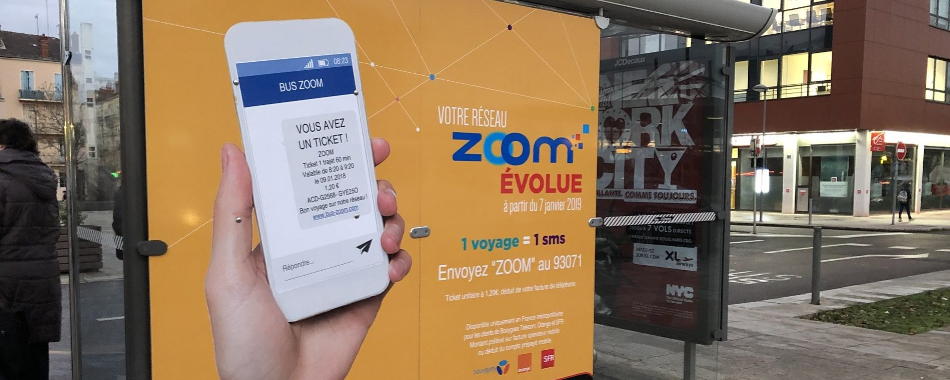 zoom Châlon réseau transport bus ticket sms Transdev