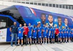 transporteur officiel de l'équipe de France masculine de handball