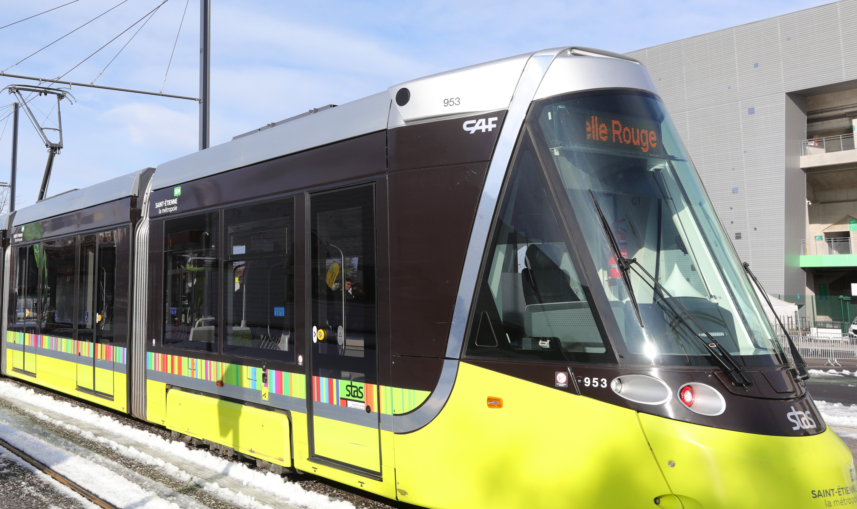 Inauguration de l'extension de la ligne T3 à Saint-Etienne