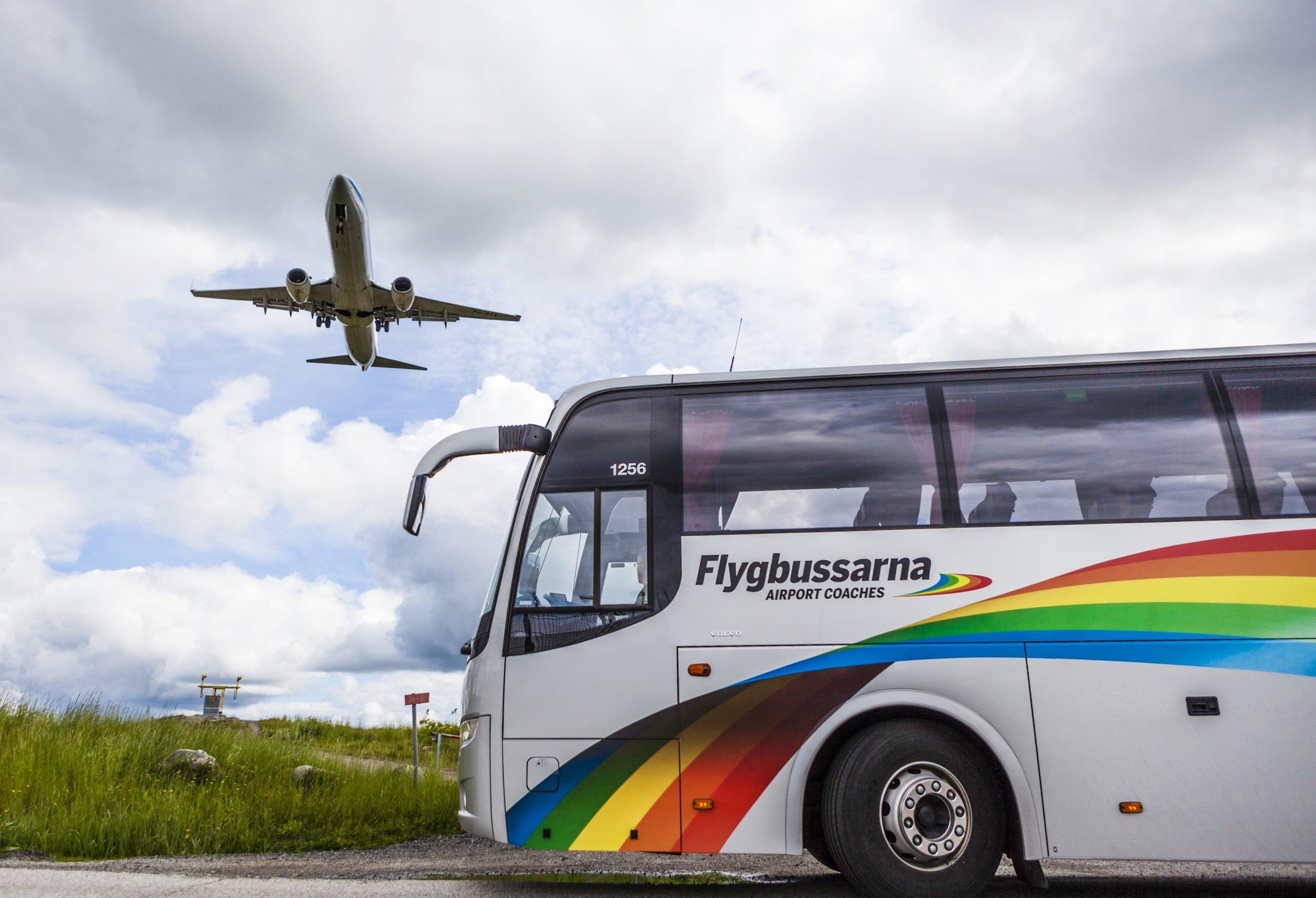 Flygbussarna, Suède