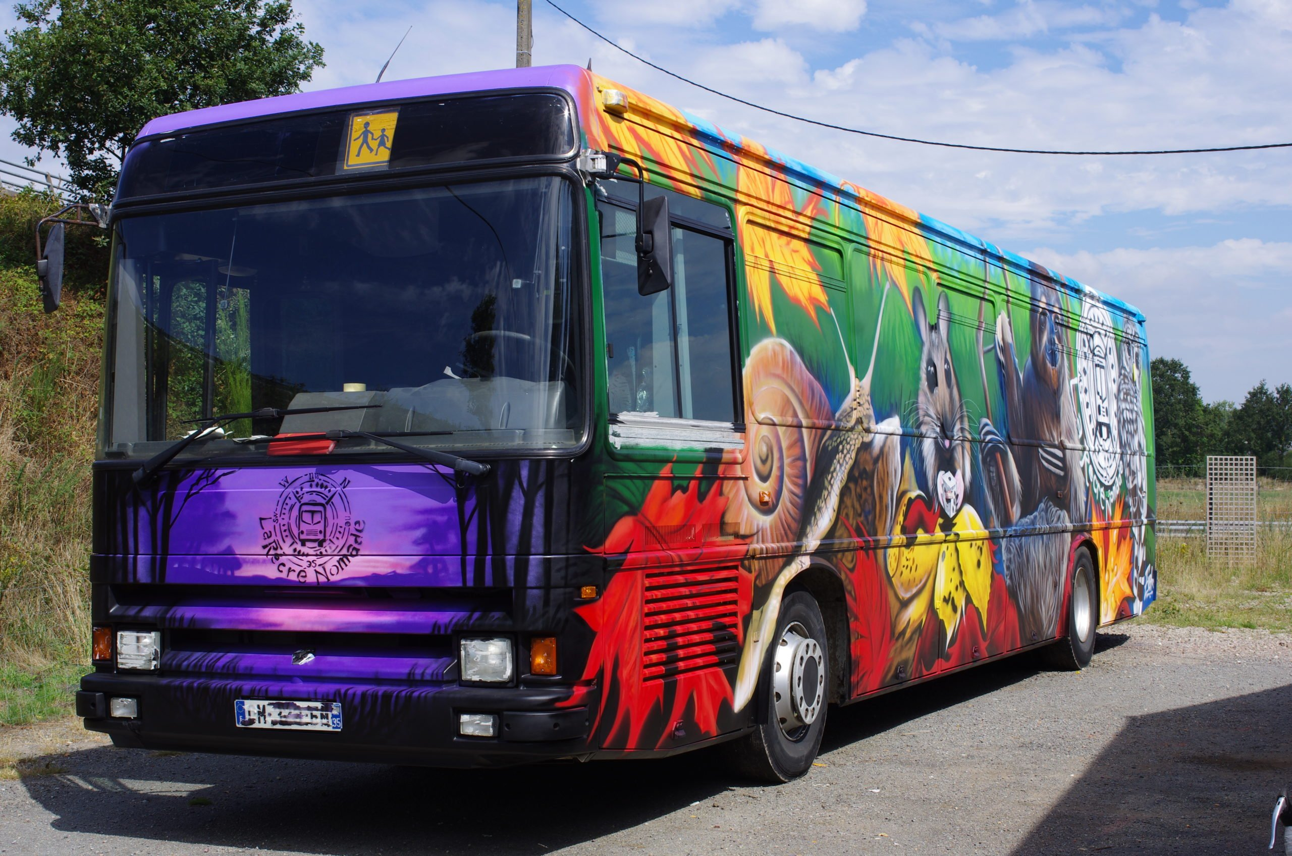bus pour l'emploi opération Bretagne