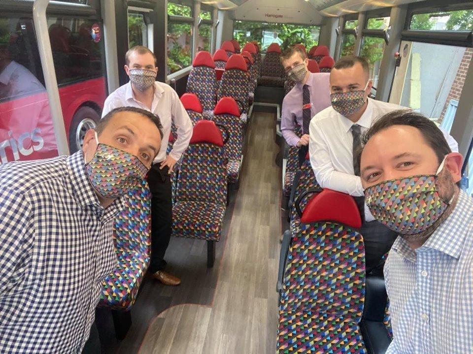 Transdev UK masque colore
