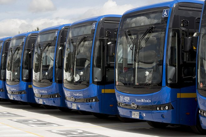 BYD Colombia eBuses
