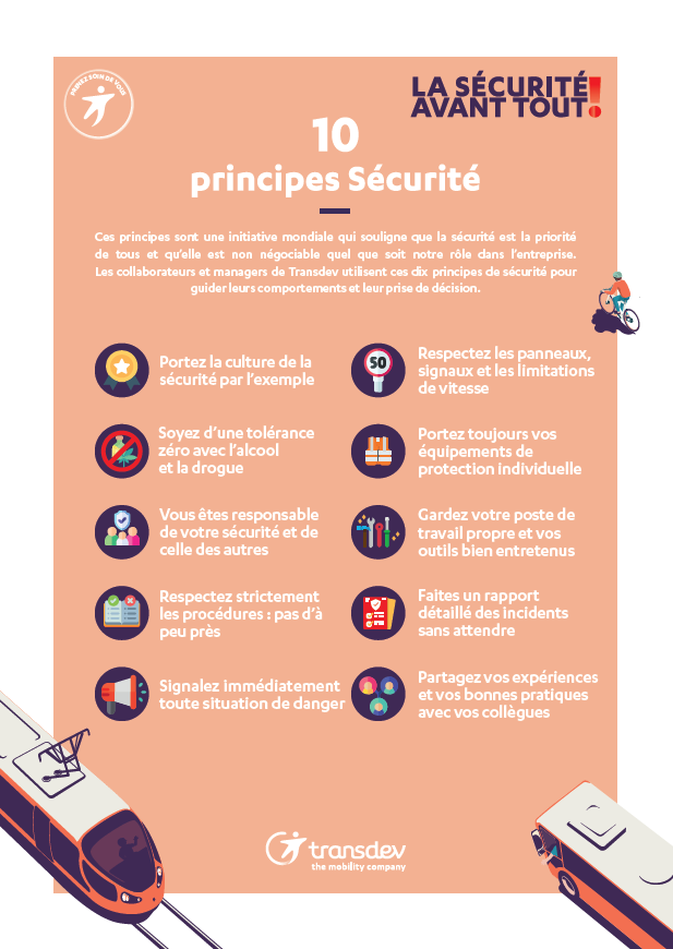 10 principes securite transdev france