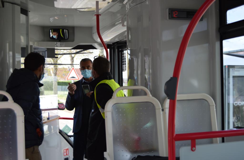 intérieur bus Auxerre