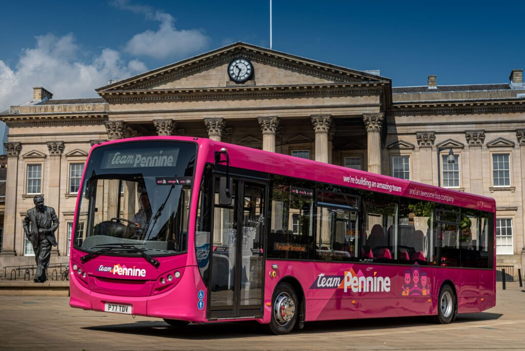 Launch Bus Team Pennine