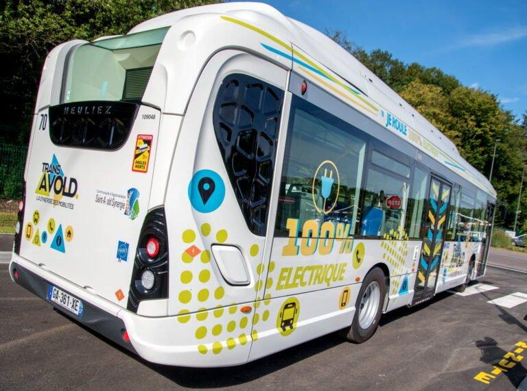 Bus-électrique-Saint-Avold-mobilité durable-Grand-Est