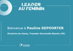 Pauline DEPOORTER - Leader au Féminin