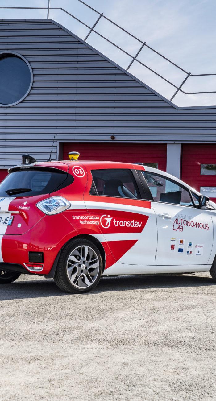 voiture autonome Transdev